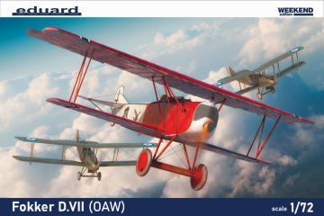 Fokker D.VII (OAW) - Weekend edition · EDU 7407 ·  Eduard · 1:72