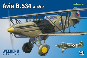 Avia B.534 IV. serie - Weekend Edition · EDU 7428 ·  Eduard · 1:72