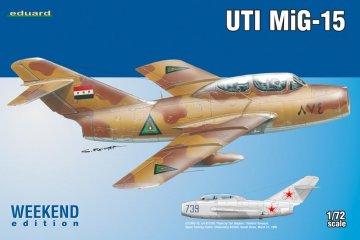 UTI MiG-15 - Weekend Edition · EDU 7433 ·  Eduard · 1:72