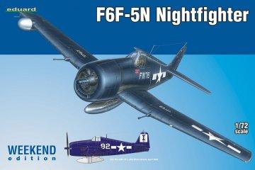 F6F-5N Nightfighter - Weekend Edition · EDU 7434 ·  Eduard · 1:72