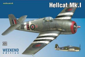 Hellcat Mk.I  - Weekend Edition · EDU 7437 ·  Eduard · 1:72