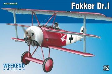 Fokker Dr.I - Weekend Edition · EDU 7438 ·  Eduard · 1:72