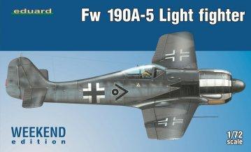 Focke--Wulf Fw 190 A-5 Light Fighter (2 cannons) - Weekend Edition · EDU 7439 ·  Eduard · 1:72