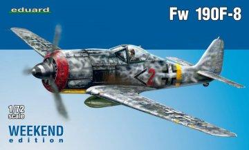 Focke-Wulf Fw 190 F-8 - Weekend Edition · EDU 7440 ·  Eduard · 1:72