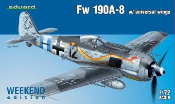 Fw 190A-8 w/ universal wings - Weekend Edition · EDU 7443 ·  Eduard · 1:72