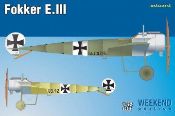 Fokker E.III  - Weekend Edition · EDU 7444 ·  Eduard · 1:72