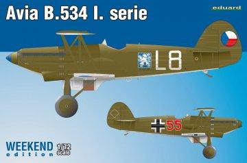 Avia B-534 I.serie - Weekend Edition · EDU 7446 ·  Eduard · 1:72