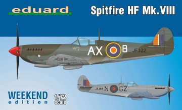 Spitfire HF Mk.VIII - Weekend Edition · EDU 7449 ·  Eduard · 1:72