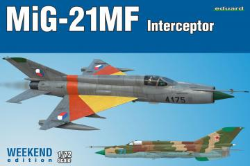 MiG-21MF Interceptor - Weekend Edition · EDU 7453 ·  Eduard · 1:72