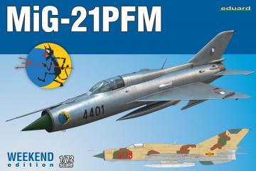 MiG-21PFM - Weekend Edition · EDU 7454 ·  Eduard · 1:72