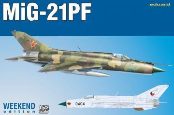 MiG-21PF - Weekend Edition · EDU 7455 ·  Eduard · 1:72