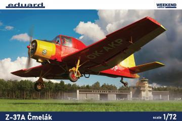 Z-37A Cmelak - Weekend Edition · EDU 7456 ·  Eduard · 1:72