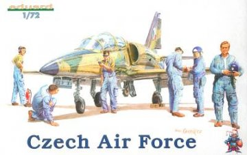 Czech Air Force Personal · EDU 7501 ·  Eduard · 1:72