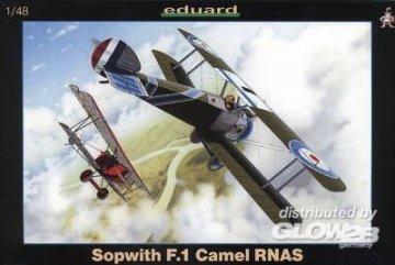 Sopwith F.1 Camel R.N.A.S. · EDU 8055 ·  Eduard · 1:48