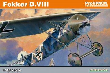 Fokker D.VIII - ProfiPACK Edition · EDU 8085 ·  Eduard · 1:48