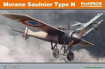 Morane Saulnier Type N - ProfiPack · EDU 8095 ·  Eduard · 1:48