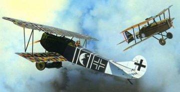 Fokker D.VII (Albatros) DUAL COMBO · EDU 8134 ·  Eduard · 1:48