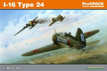 I-16 Typ 24 - ProfiPACK Edition · EDU 8149 ·  Eduard · 1:48