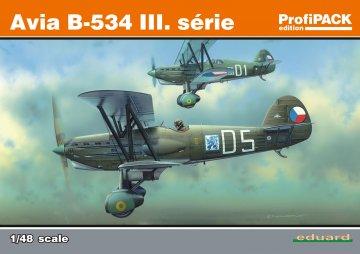 Avia B-534 III serie(Reedition) - ProfiPACK Edition · EDU 8191 ·  Eduard · 1:48