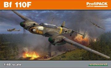 Messerschmitt Bf 110F - ProfiPACK Edition · EDU 8207 ·  Eduard · 1:48