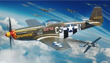 P-51D-5 - Profipack · EDU 82101 ·  Eduard · 1:48
