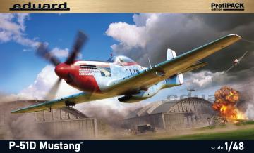 P-51D Mustang - Profipack · EDU 82102 ·  Eduard · 1:48