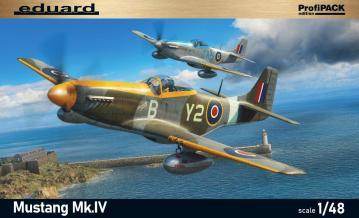 Mustang Mk.IV - Profipack · EDU 82104 ·  Eduard · 1:48