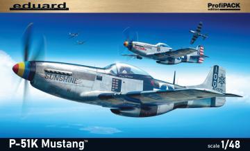P-51K Mustang - Profipack · EDU 82105 ·  Eduard · 1:48
