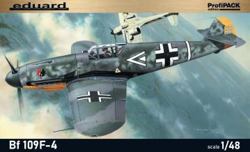 Messerschmitt Bf 109 F-4 - ProfiPACK Edition · EDU 82114 ·  Eduard · 1:48