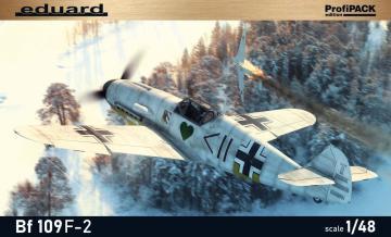 Messerschmitt Bf 109F-2 - ProfiPACK Edition · EDU 82115 ·  Eduard · 1:48