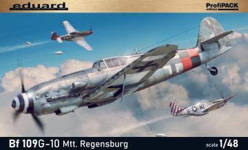 Messerschmitt Bf 109 G-10 Mtt Regensburg - ProfiPACK Edition · EDU 82119 ·  Eduard · 1:48