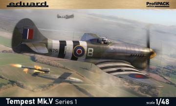 Hawker Tempest Mk.V Series 1 - ProfiPACK Edition · EDU 82121 ·  Eduard · 1:48