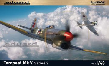 Tempest Mk.V Series 2 - ProfiPACK Edition · EDU 82122 ·  Eduard · 1:48