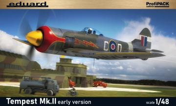 Tempest Mk.II early version - Profipack · EDU 82124 ·  Eduard · 1:48