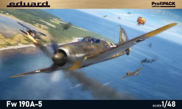 Focke Wulf Fw 190 A-5 - Profipack · EDU 82149 ·  Eduard · 1:48