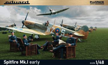 Spitfire Mk.I early - Profipack · EDU 82152 ·  Eduard · 1:48