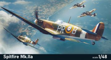 Spitfire Mk.Iia - Profipack · EDU 82153 ·  Eduard · 1:48