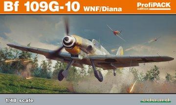 Messerschmitt Bf 109 G-10 WNF/Diana - ProfiPACK Edition · EDU 82161 ·  Eduard · 1:48