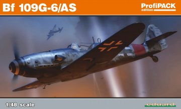 Messerschmitt Bf 109G-6/AS - ProfiPack · EDU 82163 ·  Eduard · 1:48