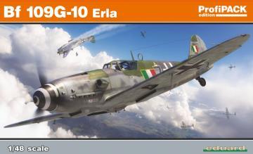 Messerschmitt Bf 109G-10 Erla - Profipack · EDU 82164 ·  Eduard · 1:48