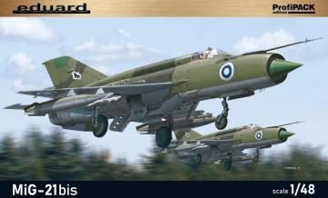 MiG-21BIS ProfiPACK · EDU 8232 ·  Eduard · 1:48