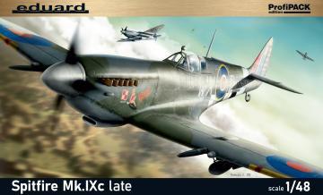 Spitfire Mk.IXc late version - ProfiPACK Edition · EDU 8281 ·  Eduard · 1:48