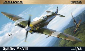 Spitfire Mk. VIII Profipack · EDU 8284 ·  Eduard · 1:48