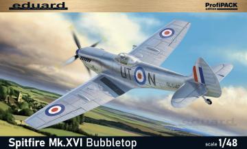 Spitfire Mk.XVI Bubbletop - ProfiPACK Edition · EDU 8285 ·  Eduard · 1:48