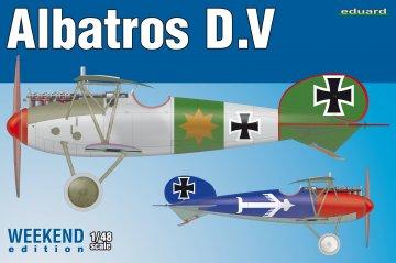 Albatros D.V - Weekend Edition · EDU 8408 ·  Eduard · 1:48