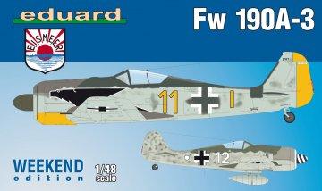 Focke Wulf Fw 190 A-3 - Weekend Edition · EDU 84112 ·  Eduard · 1:48