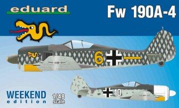 Focke-Wulf Fw 190 A-4 - Weekend Edition · EDU 84121 ·  Eduard · 1:48