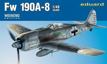 Focke Wulf Fw 190 A-8 - Weekend Edition · EDU 84122 ·  Eduard · 1:48