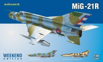 MiG-21R - Weekend Edition · EDU 84123 ·  Eduard · 1:48
