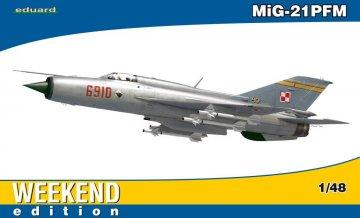 MiG-21 PFM - Weekend Edition · EDU 84124 ·  Eduard · 1:48
